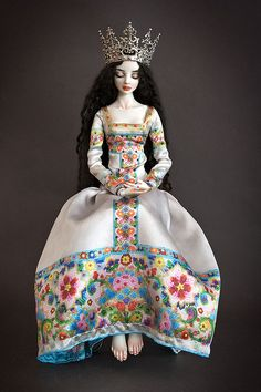 "✯ ★❤️^__^❤️★ ✯ ""SNOW-WHITE"" Doll*icious Beauty--ENCHANTED DOLLS by Marina Bychkova ✯ ★❤️^__^❤️★ ✯"