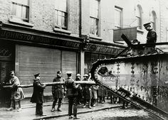 Easter Rising - British tank is used to batter down a door, during a door to door search for snipers, The Irish rebellion began on Easter Monday April 1916 when the Irish rebels attempted to gain. Ireland 1916, Dublin Ireland, Republican News, Irish Independence, Irish News, Easter Rising, Dublin Castle, Army Soldier, British Army