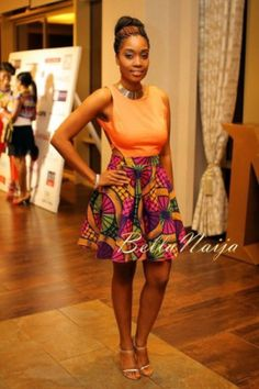 2013 Ghana Fashion & Design Week – Day 2 (Finale): You Need to See the FAB, the Bad & the Oh-So Entertaining Crazy Looks from Accra Ghana Fashion, Bold Fashion, Ethnic Fashion, Fashion Prints, Fashion Design, African Dresses For Women, African Fashion Dresses, African Wear, African Style