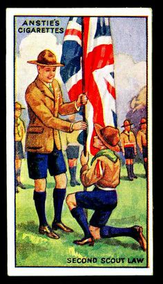 Cigarette Card - Scout Series #10 by cigcardpix, via Flickr