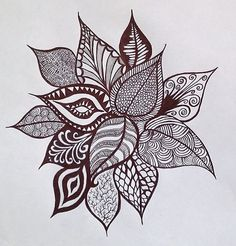 doodle flowers - Google Search
