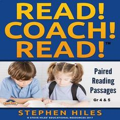 These informational paired reading passages will promote reading and comprehension of nonfiction texts among 4th & 5th grade students. It provides for a paired reading experience whereby students are paired according to reading proficiency. Students will have assigned responsibilities.    This resource details several stages including the reversal of roles, an opening activity, questions, and a closure activity. Much More!