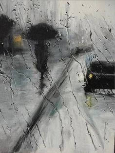 "Saatchi Art Artist Sergey Selivanov; Painting, ""Raining"" #art"