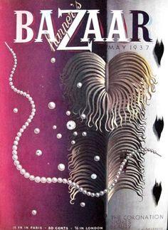 ALL MY EYES: A.M. Cassandre for Harper's Bazaar