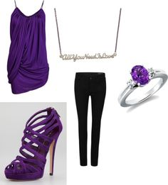 """""""Purple Love3"""" by weheartitbtch on Polyvore"""