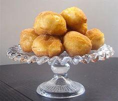 cinnamon sugar doughnuts? that sounds sooooo yummy.