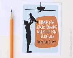 Funny Father's Day cards: It's the little things, right?