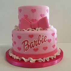 41 Best ideas for birthday cake girls kids barbie Birthday Cakes Girls Kids, Barbie Birthday Cake, Cool Birthday Cakes, Girl Birthday, Birthday Ideas, Spa Birthday Parties, Barbie Torte, Bolo Barbie, Pink Barbie