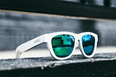 3263abbee0 The Zungle Panther are a pair of sunglasses that feature built-in  bone-conducting headphones and replaceable lenses compatible with Oakley  Frogskins.