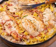 Klasszikus túrógombóc Recept képpel - Mindmegette.hu - Receptek Bologna, Paella, Bacon, Hawaii, Pork, Food And Drink, Lunch, Chicken, Ethnic Recipes