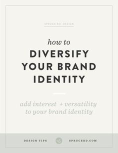 How to diversify your brand identity