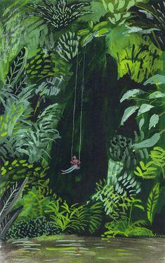 Kirstens sims  Extraordinary landscape illustrator