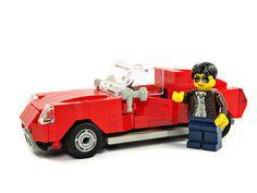 lego sports car moc | MOC: Red sportcar - LEGO Town - Eurobricks Forums