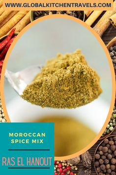 Ras el Hanout - Moroccan Spice Blend is ubiquitous throughout North African and Middle Eastern cuisine. It is a delicious mix of smoky spices and herbs. #spiceblends #moroccanfood #middleeasternfood #spicemix #spices