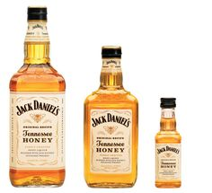 Packaging designed by Cue Inc for Jack Daniel's whiskey and honey based spirit Tennessee Honey