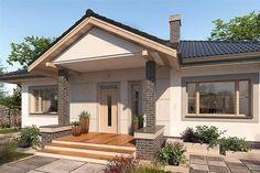 Projekt domu Lucia DCB88 93,61 m2 - koszt budowy 143 tys. zł - EXTRADOM Design Case, House Design, Outdoor Decor, Home Decor, Houses, Decoration Home, Room Decor, Architecture Design, Home Interior Design