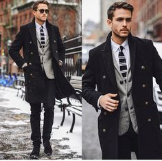 Men's Fashion | Menswear | Men's Casual Outfit for the Office | Fall/Winter Men's Style | Moda Masculina | Shop at designerclothingfans.com