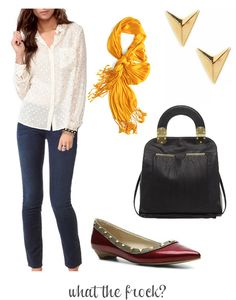 What the Frock? - Affordable Fashion Tips and Trends: What to Wear: To a Casual Office