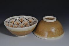 Japanese Flower Bowl - Green. $20.00, via Etsy.