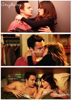 Anything could happen. {gif} #newgirl