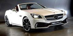 Mercedes SLK Black Bison by Wald International