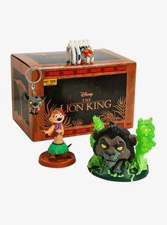 Funko Disney Treasures The Lion King Box Hot Topic Exclusive, Hot Topic Disney, Disney Pop, Disney Stuff, Disney Treasure Box, Treasure Boxes, Funko Pop, Vinyl Figures, Action Figures, Lion King Timon