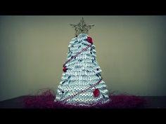 Choinka ze wstążki - YouTube