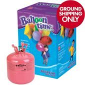 Small Helium Tank fills 30 9inch latex balloons or 16 18 inch foil balloons $49.99 partycity.com