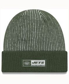 New Era New York Jets Tech Knit - Green/White Adjustable