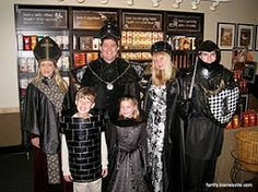 Chess costume family