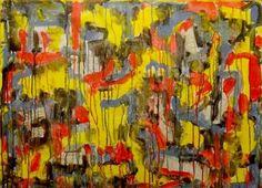 mingusoïde : Collage et Acrylique sur toile - Phil Jacques