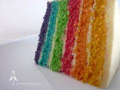 Rainbow Cake by Garfo Divino