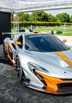 This #McLaren P1 GTR looks ready to tear up the #Track! #Modern #SuperCars #Speed #Style #Design #Power #Luxury #Engines #Cars #CarShowSafari