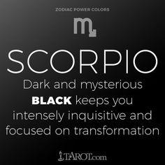 dark side of scorpio horoscope