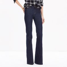 Flea Market Flares in Kenner Wash by Madewell | legs for days