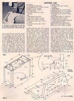 #2423 DIY Pool Table - Woodworking Plans