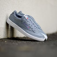 Reebok Club C 85 Overbranded Meteor Grey . Disponible/Available: SNKRS.COM