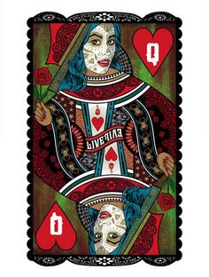 King and Queen of Hearts Art Prints by Brian Ewing
