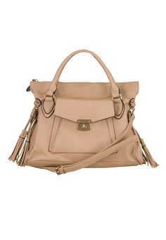Front Pocket Satchel with Tassels (original price, $59) available at #Maurices