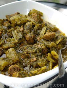 Khoresh Karafs, Persian celery stew Recipe