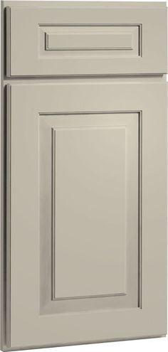 Urban Stone Cream Kitchen Cabinets | Cambridge Door Style | CliqStudios traditional kitchen cabinets