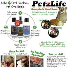 Dog Dental Care | Pet Oral Hygiene | Cat Tooth Cleaning Product