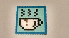 Perler Bead Coffee Coaster
