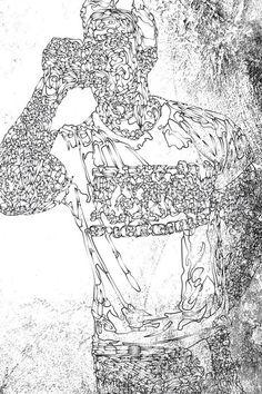 UOMINI by Daniel Guzman, via Behance
