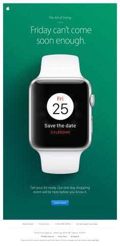 Fri 25 - save the date in calendar