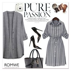 """""""ROMWE IV/6"""" by amra-mak ❤ liked on Polyvore featuring Jimmy Choo, women's clothing, women, female, woman, misses, juniors and romwe"""
