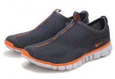 TTotir2005 Nike Free Cross-Country Hommes noir gris orange, veteHommest nike pas cher