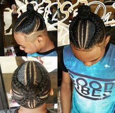 baby boy hair braiding styles - Baby Hair Style There's really no Boy Braids Hairstyles, Baby Boy Hairstyles, Toddler Boy Haircuts, Boys Long Hairstyles, Hairstyle Ideas, Hair Ideas, Teenage Hairstyles, Braids For Boys, Braids For Black Hair