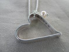 I Love You More Secret Message Heart Necklace