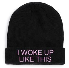 Beyonce FLAWLESS Beanie Funny music dope swag queen by cushQUOTES